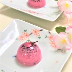 3月のお菓子「桜まりん」(道明寺羹)