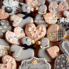 バレンタイン向けのクッキーレッスン