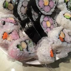 いろいろ飾り巻き寿司