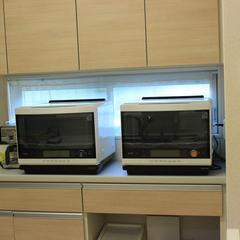 東芝石釜オーブンを2台使用します