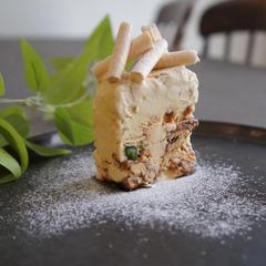 キャラメルナッツのテリーヌアイス