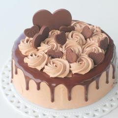 チョコレートのドリップケーキ 直径15cm 1台お持ち帰り