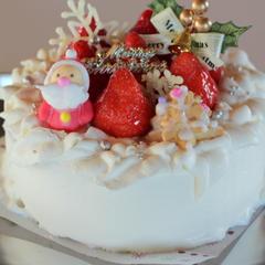 いちごのクリスマスショートケーキ