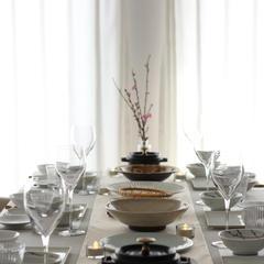 2020年 春の和食レッスン テーブル