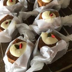 簡単焼き菓子のおまけレシピも魅力的!これはキャロットケーキ