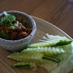 豚肉のディップ スペシャルクラス「タイ料理」