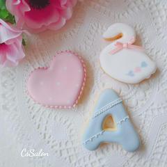 お家でアイシングクッキーが作れるようになる人気の基礎レッスン
