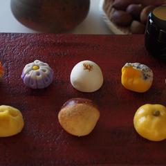 秋の和菓子教室