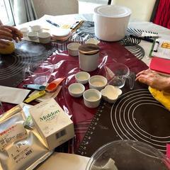 マルドンシーソルトで柔らかくふわふわの人参パンを作っています