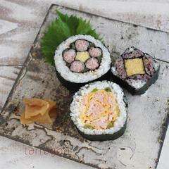 飾り巻き寿司レッスンのリクエストでリピート開催!