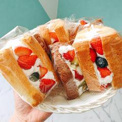 シフォンケーキを焼いて、サンドにしてみませんか?