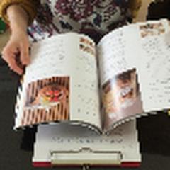 パンに関する本も沢山あります。待ち時間中にご覧くださいね
