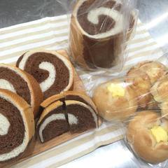 基本のコース 微量イーストで渦巻パン&総菜パン2種