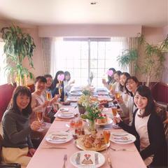 「お茶会がとっても楽しかったです!」古河市 Oさん)