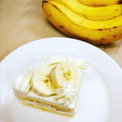 「バナナショートケーキ 7/18pm」意外に美味しいんです。