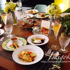 【レッスン風景】 洋食器を多用したテーブルコーディネート