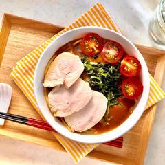 トマトカレー麺