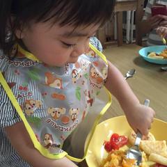 幼児食レッスン後はお子様がパクパク