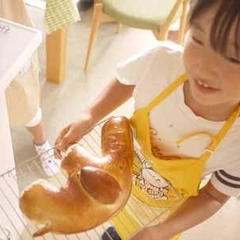 巨大なゾウのパンを焼きました!