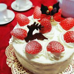 みんな大好き❤ ふんわりシットリのイチゴのショートケーキ
