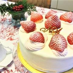 しっとりスポンジの本当に美味しいショートケーキ
