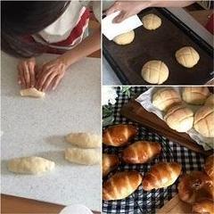 パン作りの基礎からご指導します。ご安心ください。