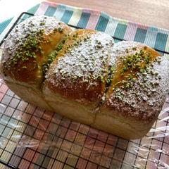 3月メニュー:ピスタチオのパン・ド・ミ