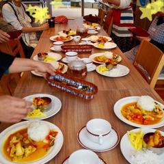 「インドと日本カレーの違い」講座。食比べは2杯飯で腹パン!