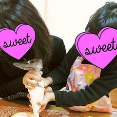 親子でケーキのプライベートレッスン♡