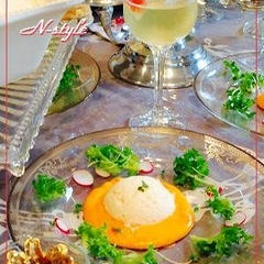 『聖夜の晩餐に』amuseの海老のクネル