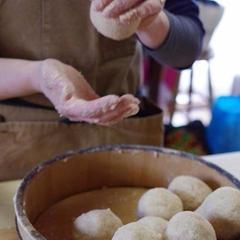 明石京作さんの麹で作る 2か月で完成!白味噌づくり