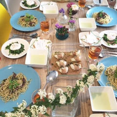 春の食材たっぷりイタリアンメニューでおもてなし
