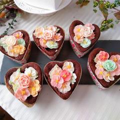 チョコレートFlowerケーキ