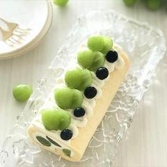 シャインマスカットロールケーキ