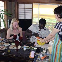 イギリスから旅行で東京にいらした生徒さん 英語でレッスン