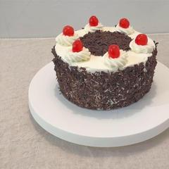 黒い森のケーキのレッスン。