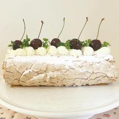 イギリスのお菓子、メレンゲルーラードのレッスン。