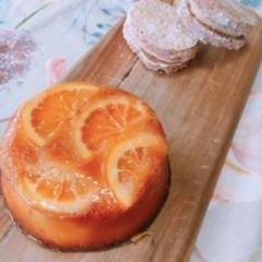 オレンジケーキ、コーヒーダコワーズ