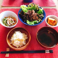 <春野菜で韓国気分>家庭料理は肉より野菜がたくさん