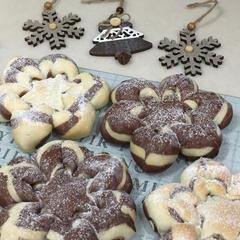 【12月】スノーブレッド~雪の結晶~