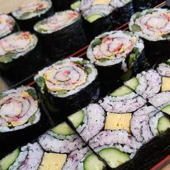 断面の綺麗な飾り巻き寿司レッスン