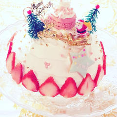 スペシャルレッスン☆クリスマスケーキ