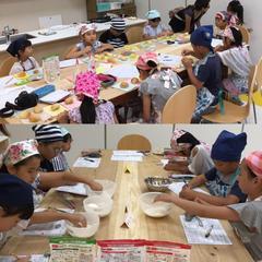 夏休み自由研究イベント「小麦粉の違いについて」