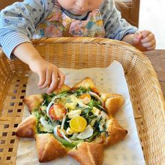 おひさま麹ピザの会☀️親子の会にも是非いらしてみて下さいね。
