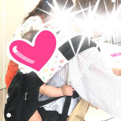 ママはおんぶでがんばりますo(^▽^)o