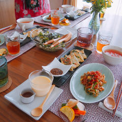 ハトムギを楽しむ韓国料理