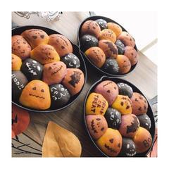 ハロウィンのちぎりパン