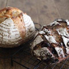 田舎パン2種