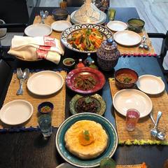 モロッコ料理の教室です。