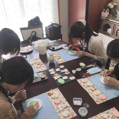6人用テーブルで、4名様まで。作業スペース広めです😊